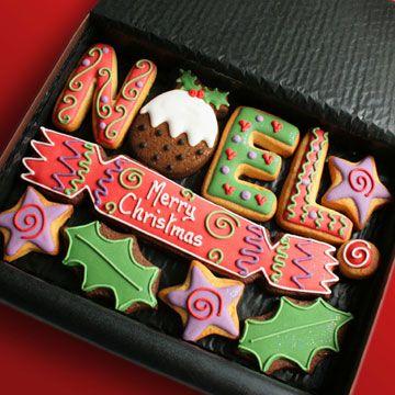 Christmas Gifts Cookies