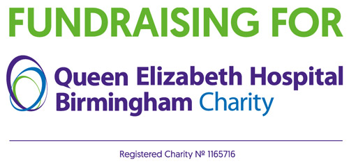 Fundraising for Queen Elizabeth Hospital Birmingham Charity - Registered Charity No. 1165716